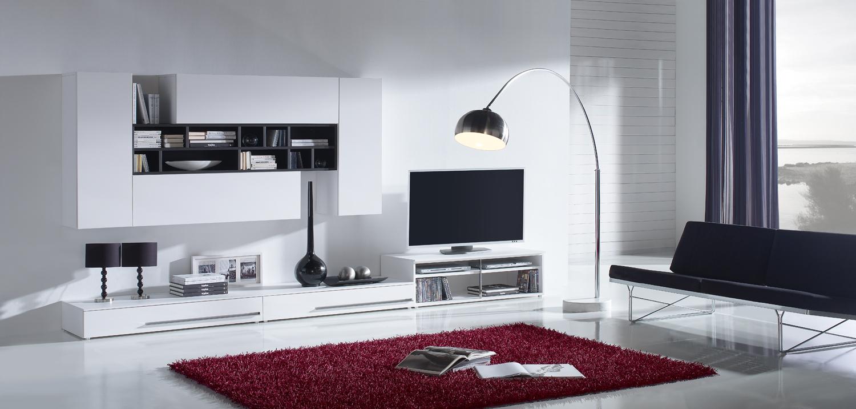 Hogares frescos impresionantes dise os de salones for Disenos de modulares modernos