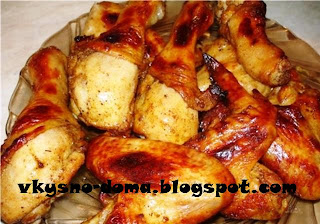 Курица томленная в духовке