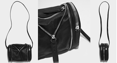 KARA mini bag double date black