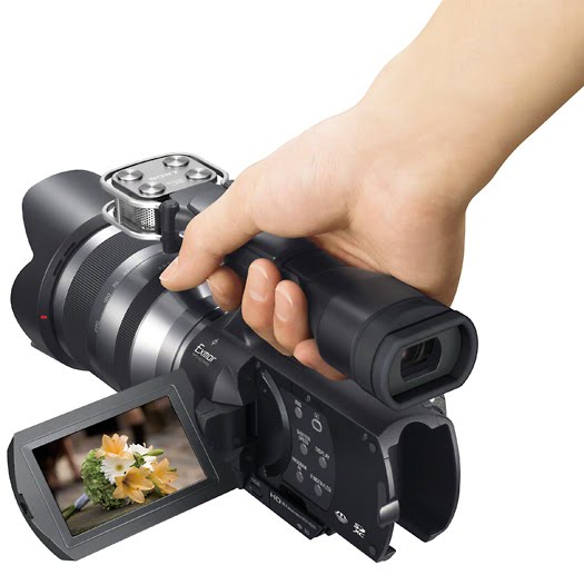 sony nex-vg20 video camcorder