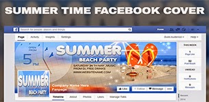 Summer Trip v2 Facebook Timeline Cover