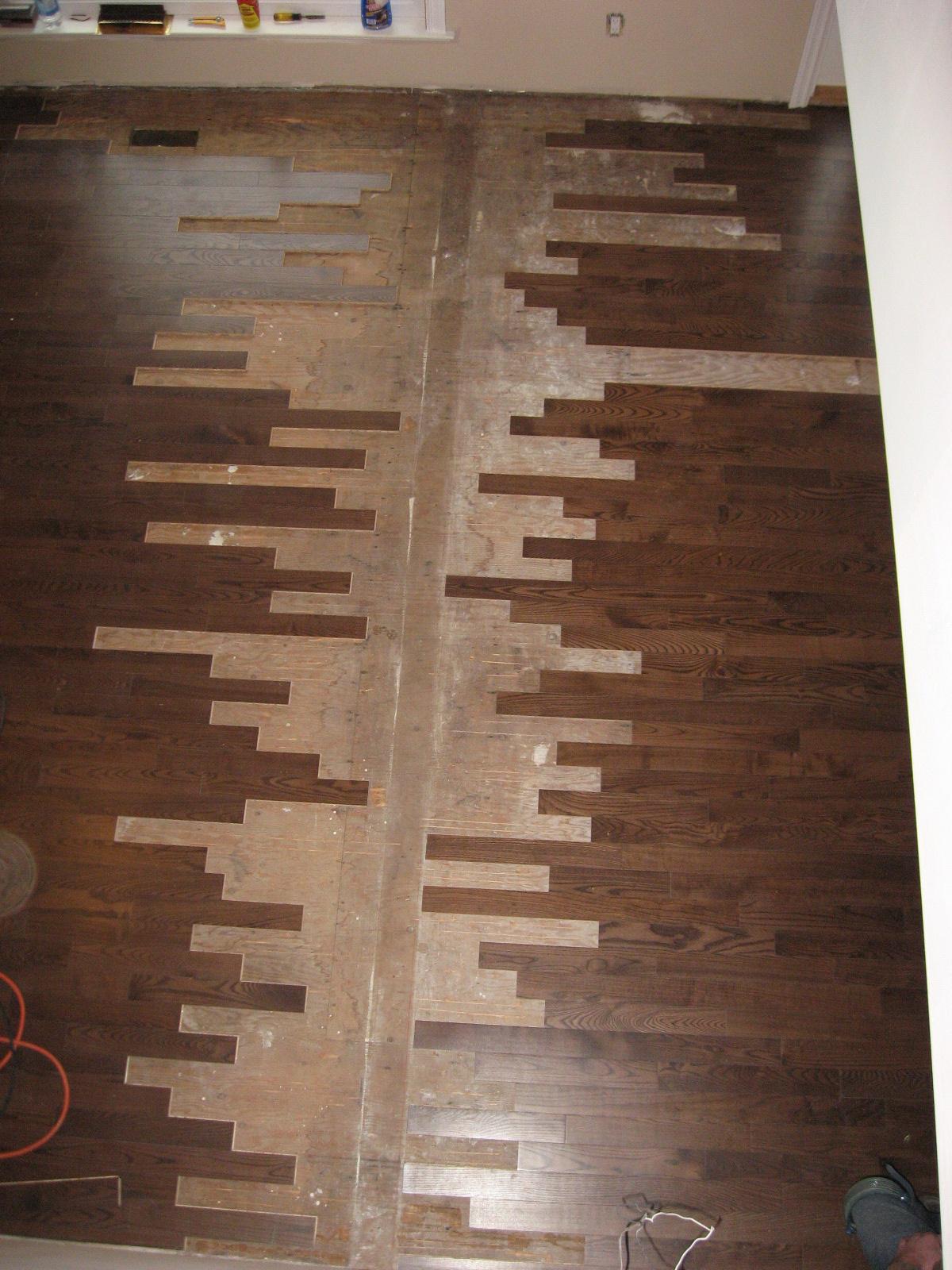Antiqued Fir, Solid Stair Treads And Risers. (Tsawwassen)