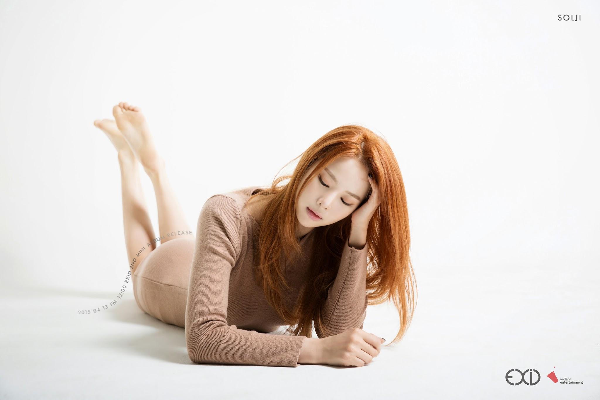 EXID Solji Ah Yeah Concept