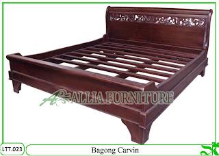 Tempat Tidur Dipan Klender Bagong Carvin