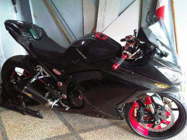 modifikasi motor ninja 250 fi terbaru
