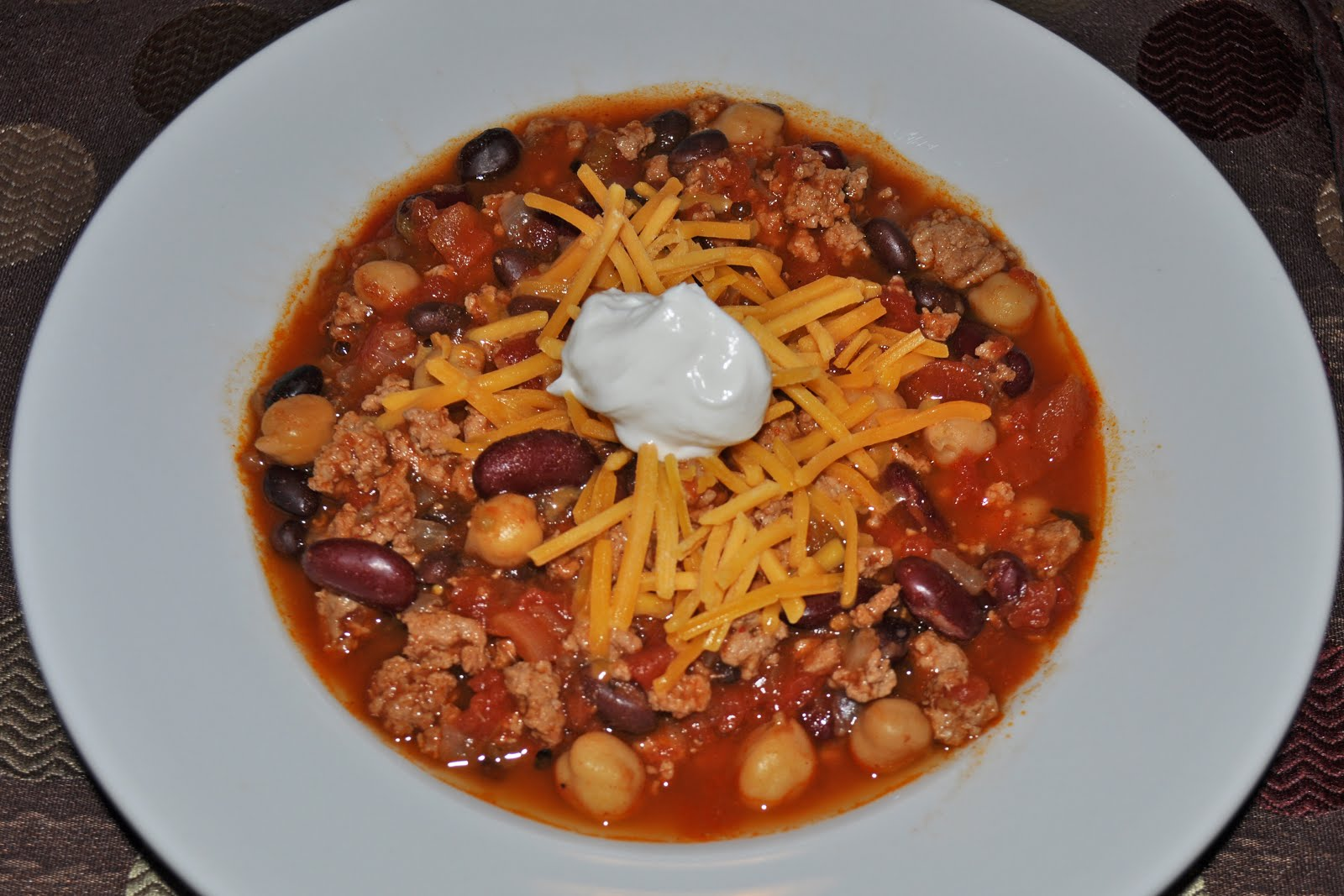 Crock Pot 3 Bean Turkey Chili Recipes — Dishmaps