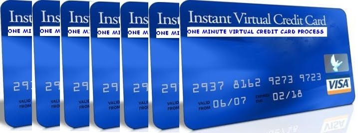 Get A Free Virtual Credit Card In One Minute