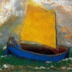 'La barca mística (Odilon Redon)'