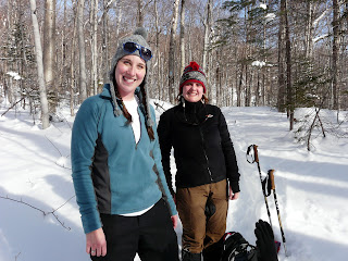 Jenny and I on our Pinkham Notch Snowshow