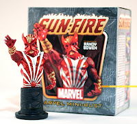 Sunfire (Marvel Comics) Character Review - Mini Bust Product