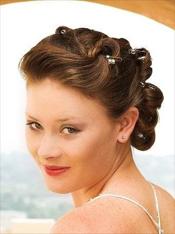 shermilla's wedding hairstyles