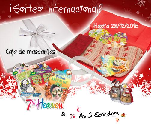 ¡Sorteo Internacional Navideño con 7th Heaven! ¡Un lote de mascarillas!