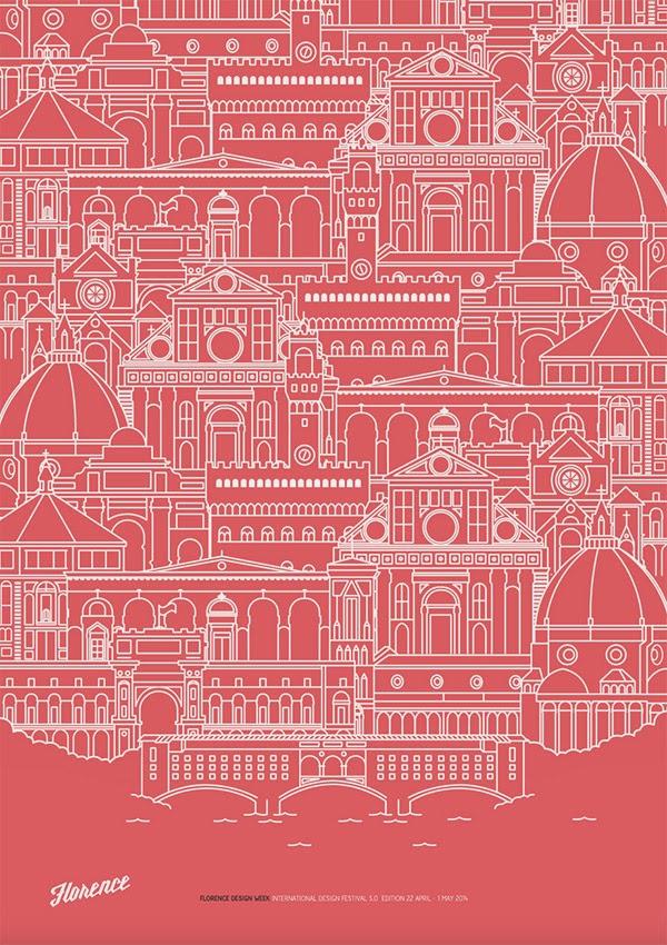 Inspirasi Desain Line Art - FLORENCE DESIGN WEEK BY RAFA SAN EMETERIO