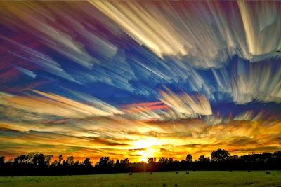 Gambar Pemandangan Langit Indah Spektakuler Warna Warni