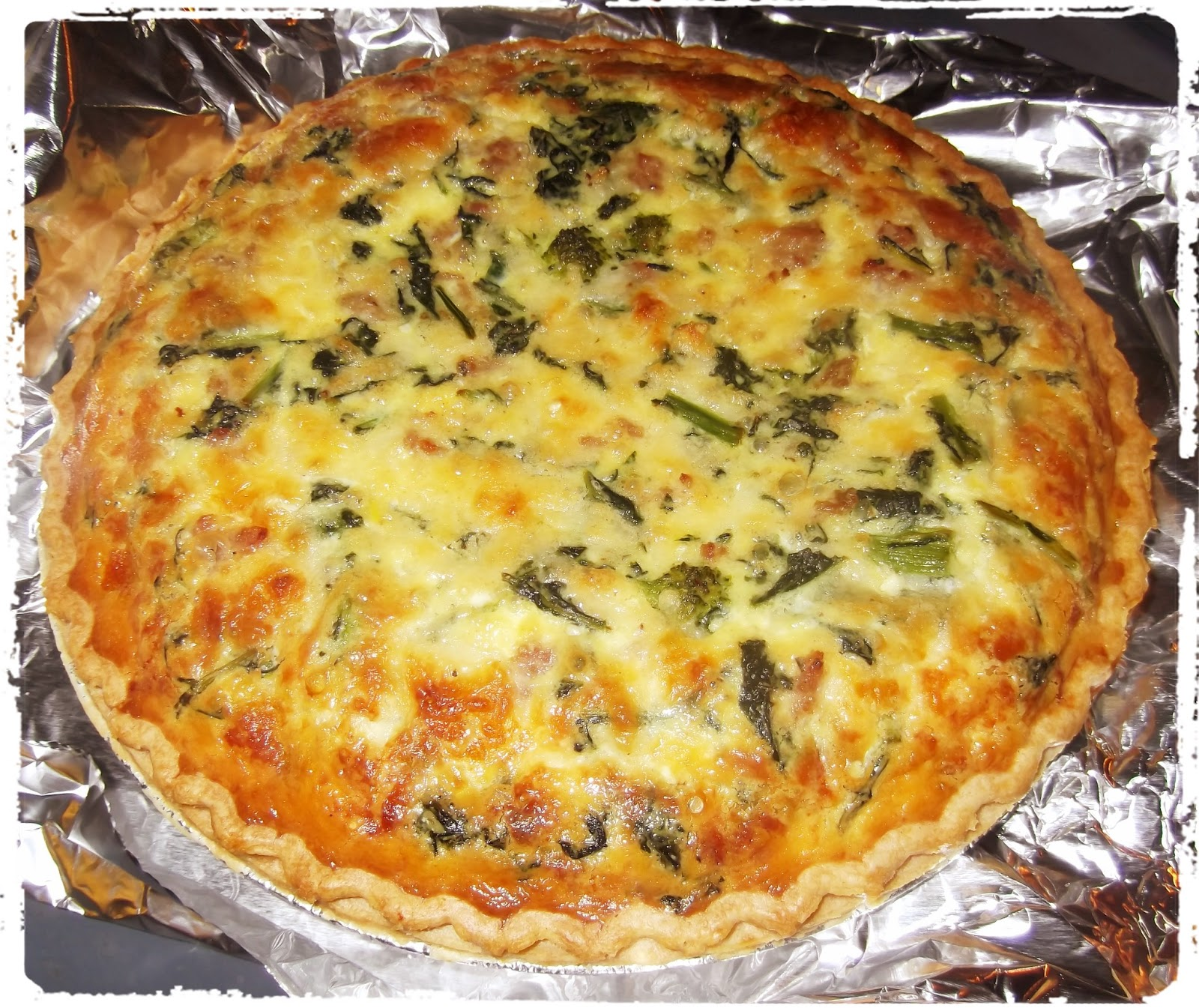 how to cook frozen quiche