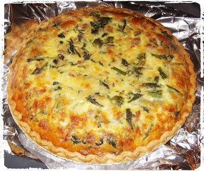 Rosie's Country Baking: Broccoli Rabe, Italian Sausage and Mozzarella ...