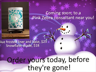 Pink Zebra Blue Simmering Light Shade image