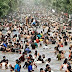 Hot Weather and Lahore famous canal