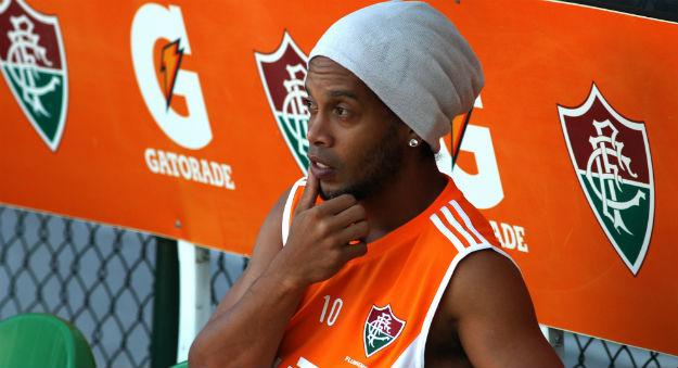 Ronaldinho Gaúcho no Fluminense