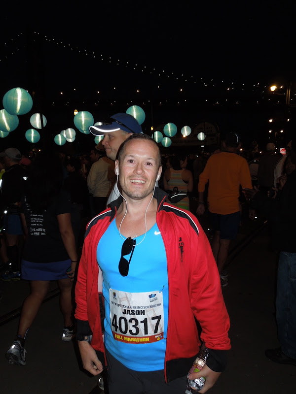 Before San Francisco Marathon