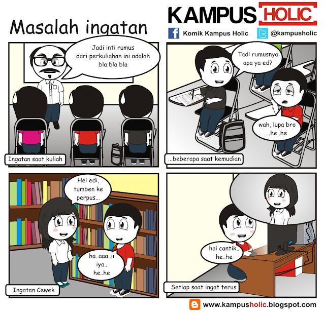 #163 Masalah ingatan mahasiswa kampus holic