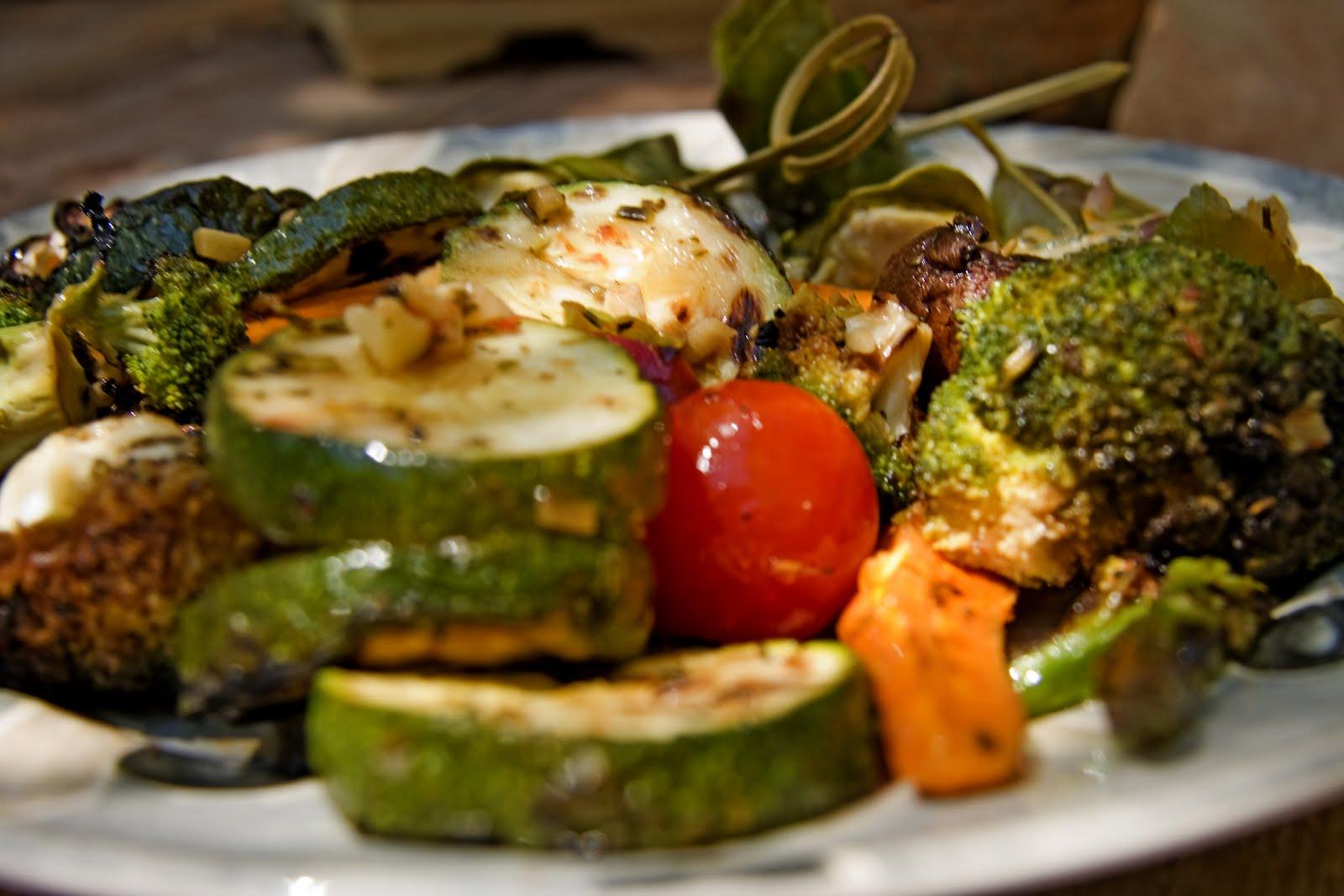 Cookbook verduras marinadas cocinadas a la parrilla for Blogs cocina vegetariana