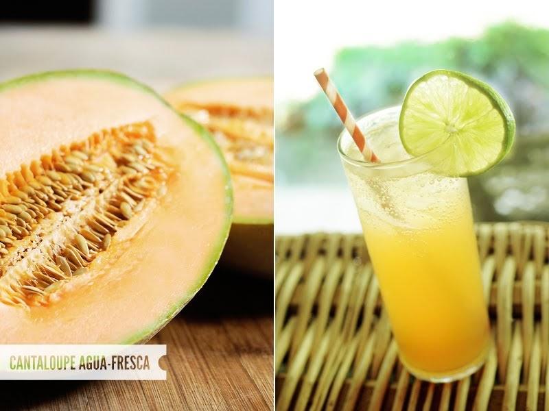 Eat With The Season: MELON MADNESS {Cantaloupe Agua Fresca}