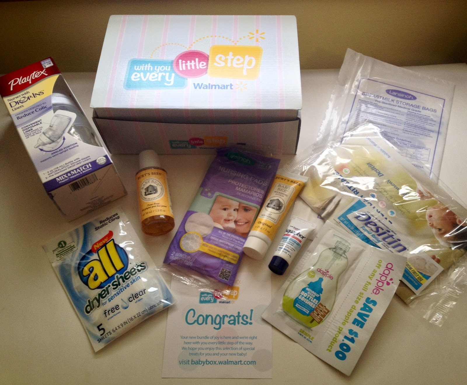 Walmart Baby Box (Newborn) - Simple Mom Review