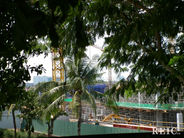 Tiến độ dự án SC VivoCity Saigon - Tháng 10 năm 2013