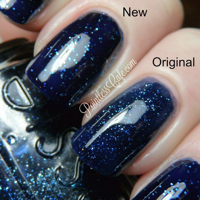 On all but the ring finger which has 3 light coats of the original
