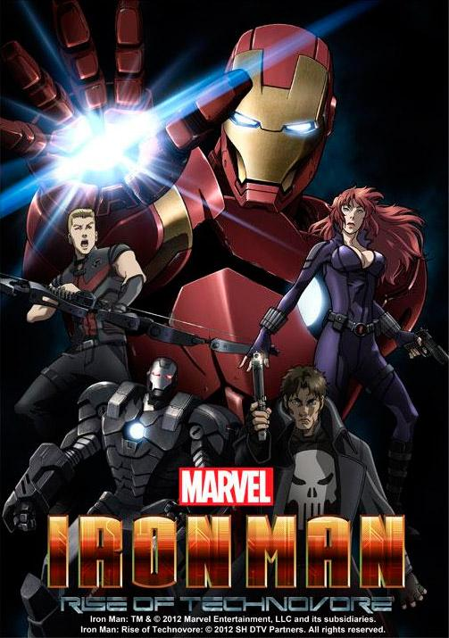 Ver Iron Man: Rise Of Technovore (2012) Online