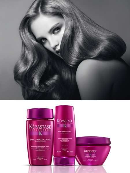 K rastase chroma captive for colored hair my gorgeous for Kerastase bain miroir