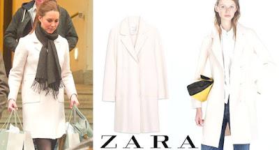 ZARA Coat Kate middleton wore
