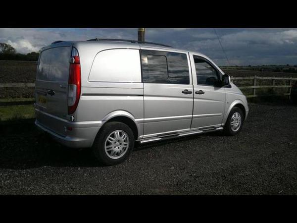 ebay scam hunter 2008 mercedes vito 109 cdi compact diesel. Black Bedroom Furniture Sets. Home Design Ideas