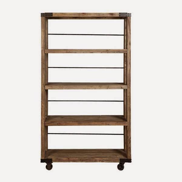 Muebles de forja muebles madera y forja serie tanzania - Estanteria forja ...