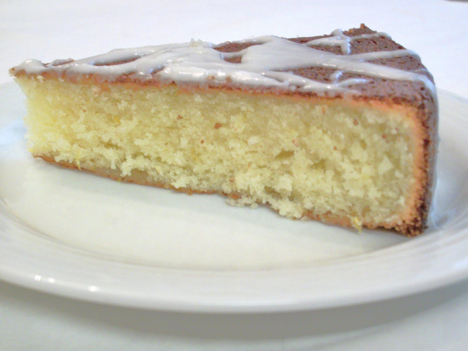 The Big Green Bowl: Meyer Lemon Cake
