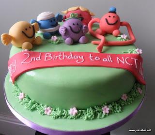 Jos Cakes December - Mr tickle birthday cake
