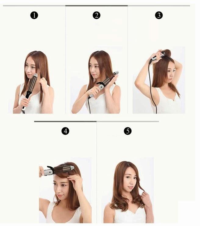 Máy tạo kiểu tóc 3 trong 1