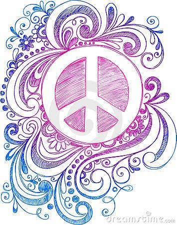 Peace Sketch