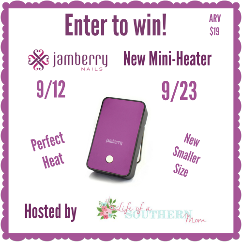 Jamberry Mini-Heater Giveaway