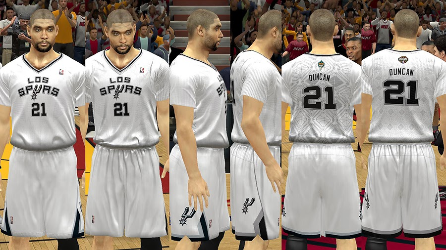 Los Spurs Latin Nights Sleeved Jersey