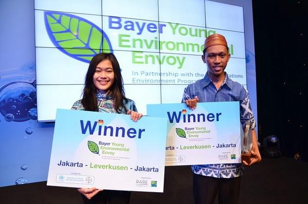 Mahasiswa Unhas dan Unpad Terpilih Jadi Duta Lingkungan 2013
