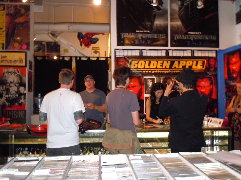 Lady Sif Thor Golden Apple Comics signing