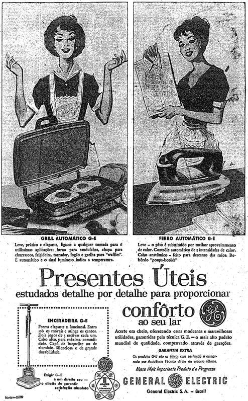 Presente para o dia das mães em 1969 - General Eletric