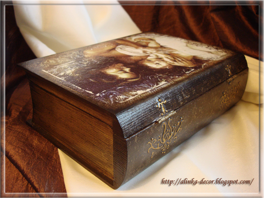 Шкатулка-книга своими руками мастер-класс