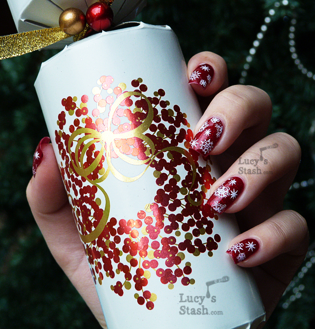 Lucy's Stash - Christmas Day manicure with SpaRitual Spellbound