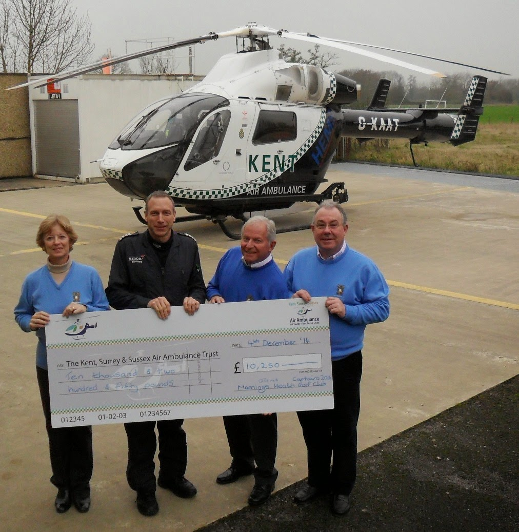 Fitted In Sussex Surrey And Kent: Kent, Surrey & Sussex Air Ambulance: Golfers Hit Five