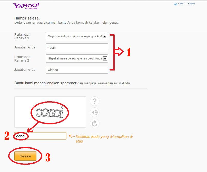 Life Must Go On: Langkah-Langkah Membuat Email di yahoo