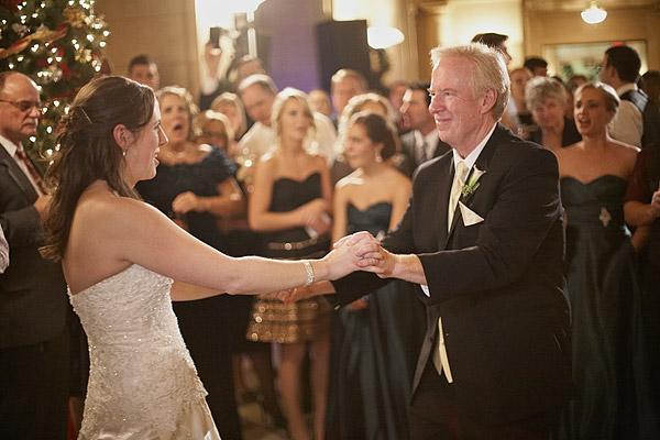 Aldrich Mansion: father and bride