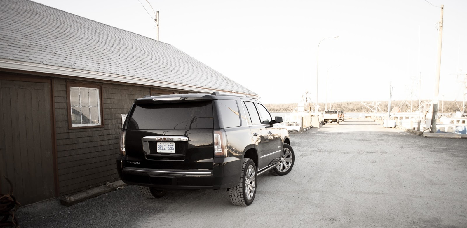 2015 GMC yukon Denali rear
